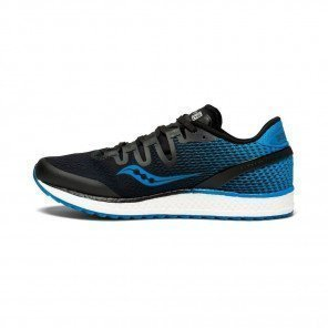 SAUCONY Freedom ISO Homme Noire / Bleue