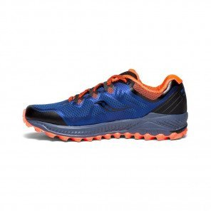 SAUCONY PEREGRINE 8 Homme Blue | Black | ViZiRed