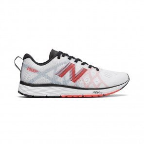 NEW BALANCE 1500v4 Femme White with Red / Black Profil Extérieure