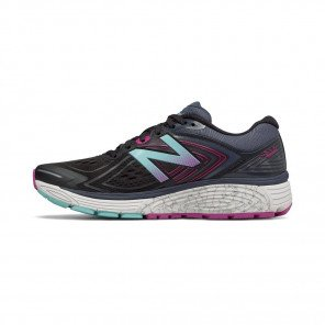 NEW BALANCE 860v8 Femme Black with Poisonberry / Thunder