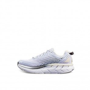 Hoka Clifton 4 - Femme - White / Blackened Pearl
