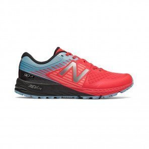 NEW BALANCE 910v4 Trail Femme Vivid Coral with Clear Sky / Black Profil Extérieure