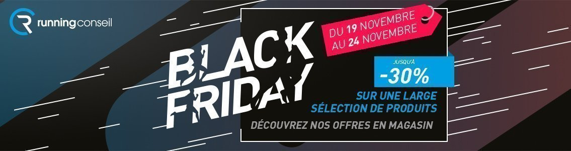 Black Friday Running Conseil Colombiers